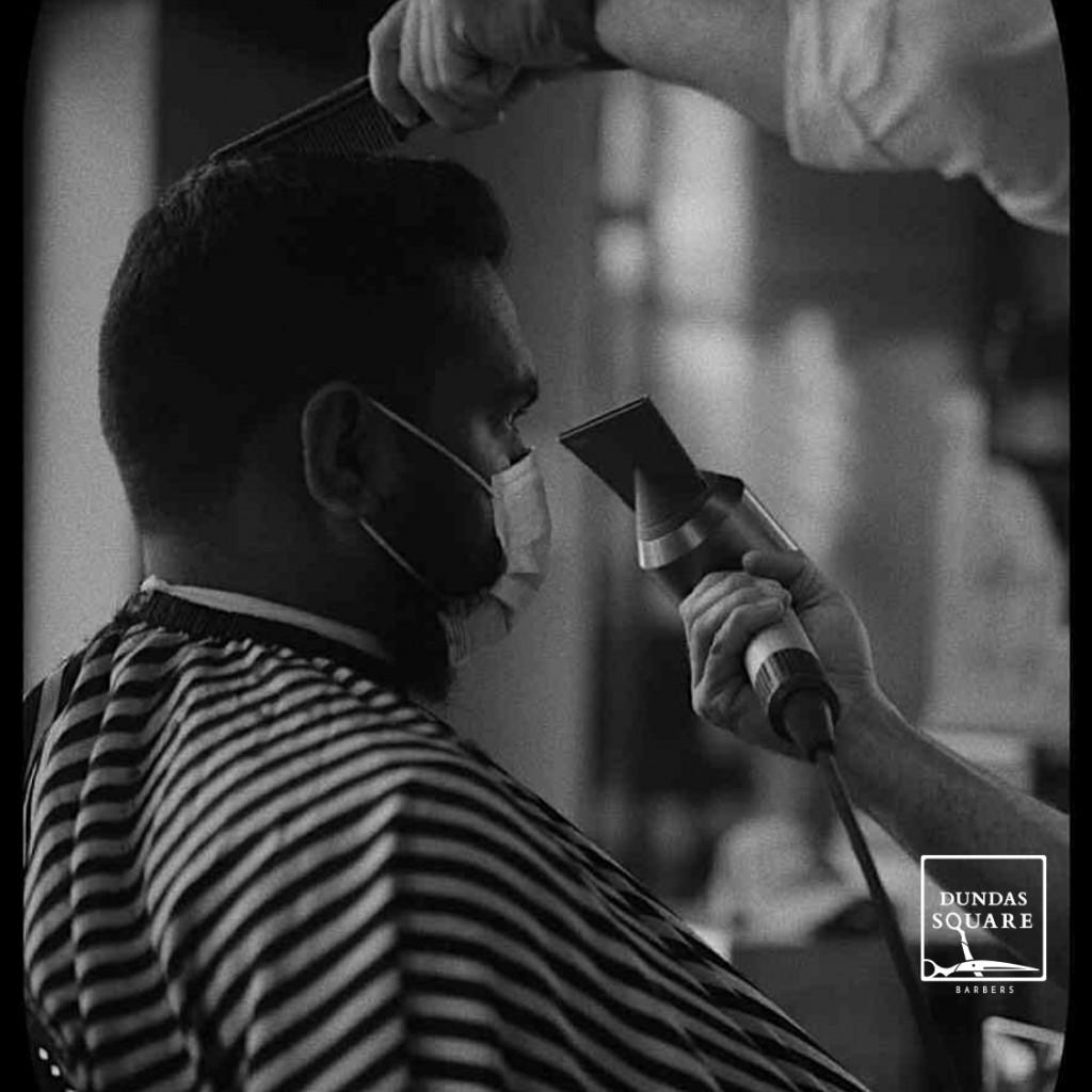 Dundas Square Barbers Client