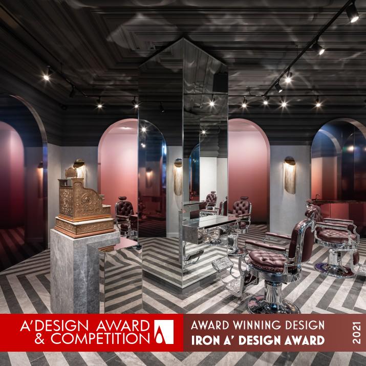 A Design Award Winner 2021 Dundas Square Barbers