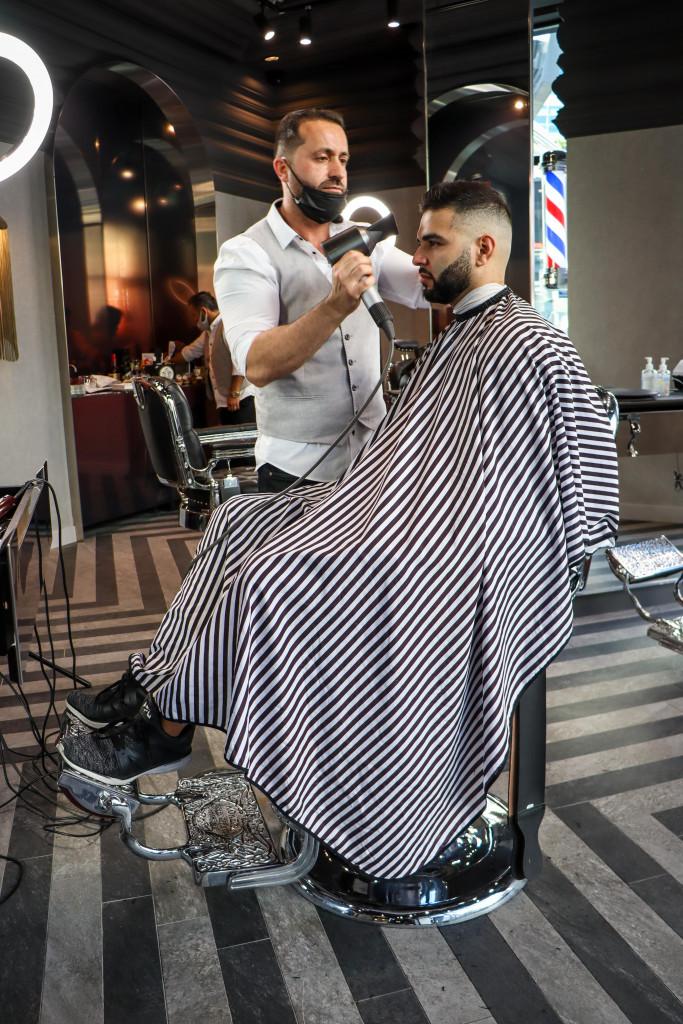 Haircut Dundas Square